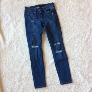Harper distressed jeans